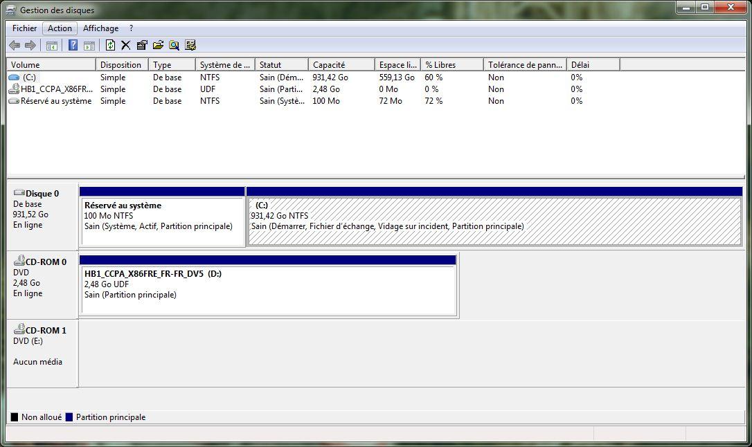 Installer windows 8 consumer preview sur un for Fenetre windows outils